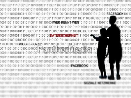 symbolsk social teen medier netvaerk sikker