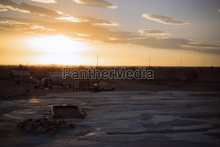 salvation mountain at colorado desert