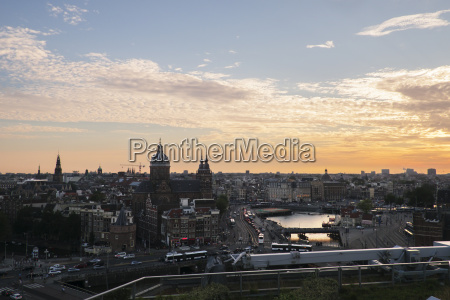 scenic view of cityscape against sky