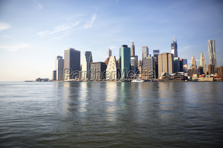 scenic view of east river and