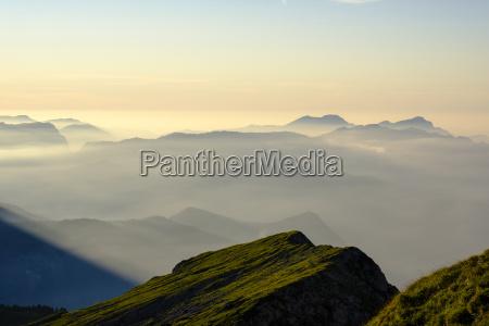landlig bjerge alper dis afstand europa