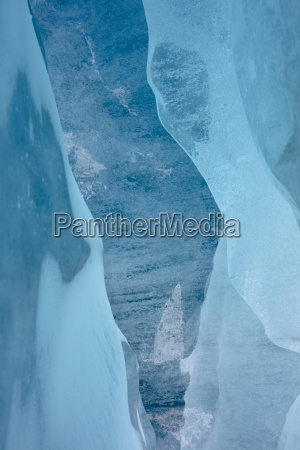bla landlig bjerge vinter kold koldt