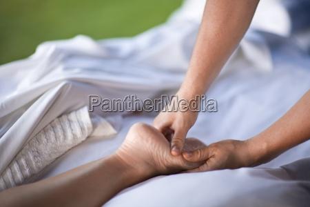 person der modtager massage fairmont kea