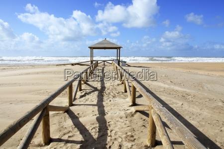 beach structure conil de la frontera