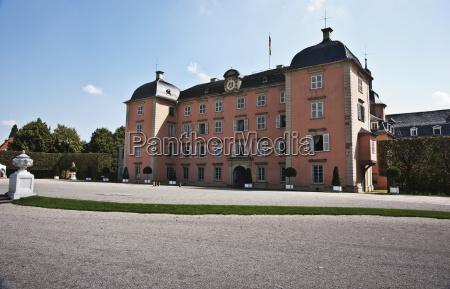 schloss schwetzingen palace side entrance schwetzingen