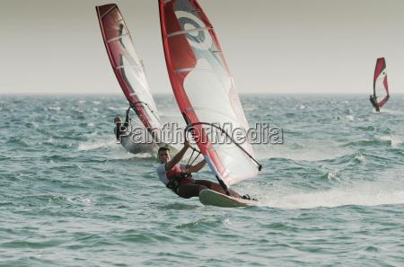 windsurfing tarifa cadiz andalusia spain