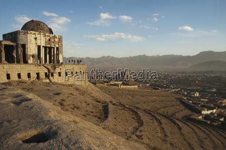 mausoleum von koenig mohammad nadir shah