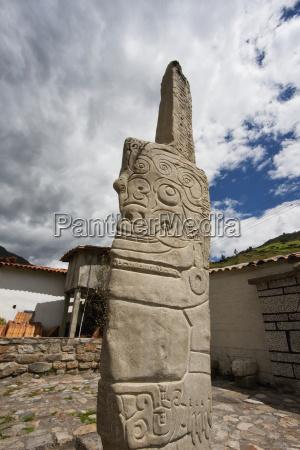 kunst latinamerika sydamerika reproduktion peru steinalt