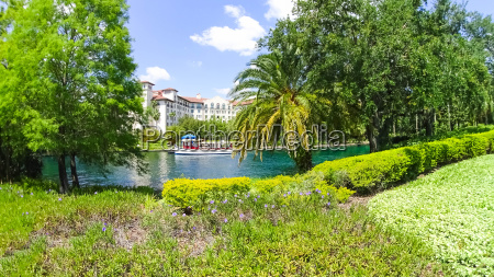 water transport and lagoon in orlando