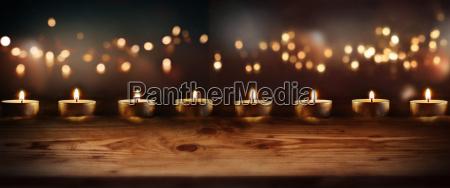 laegter gylden sorg sorgende lys stearinlys