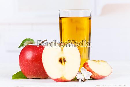 Æblejuice, frugt, æbler, drikkeglas - 25929978