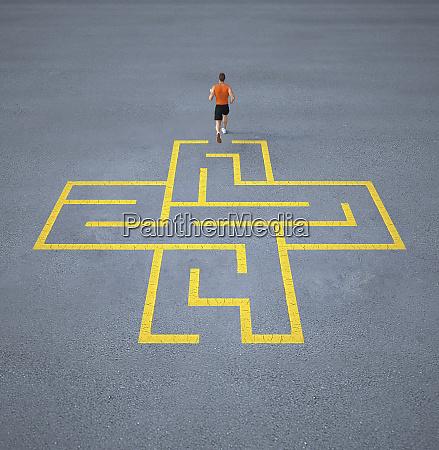 atlet lober tor for labyrint