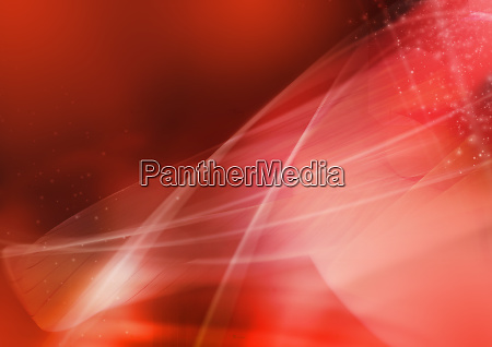 abstract image of red swirling lines