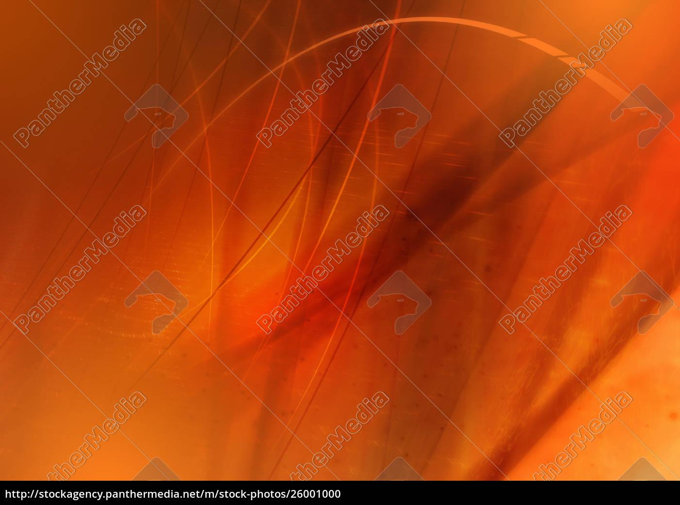 abstrakt, billede, af, orange, hvirvlende, linjer - 26001000