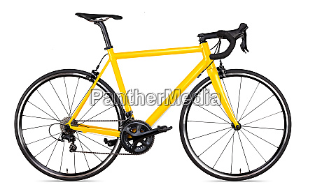 gul sort racing sport landevejscykel cykel