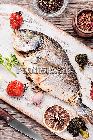 bagt fisk dorado