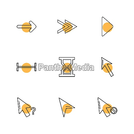 arrows directions pointer