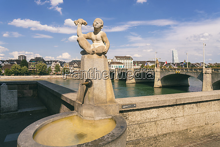 fountain with statue of little boy