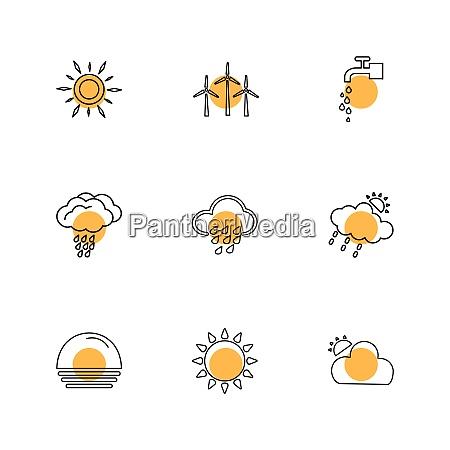 airturbine sunset ecology