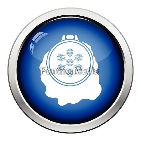 syning, hoop, ikon., blank, knap, design. - 26302408