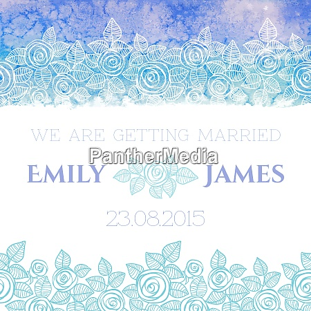 bryllup invitation eller lykonskningskort med abstrakte