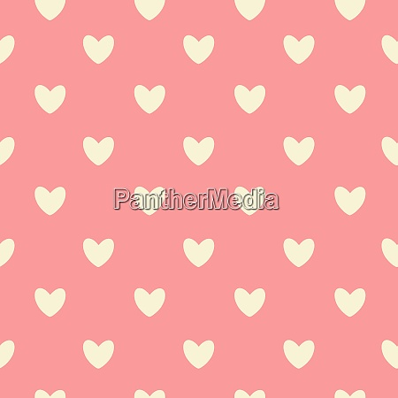 happy valentines day seamless pattern background