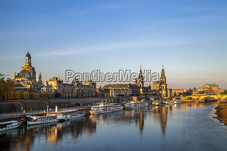 germany saxony dresden city view in