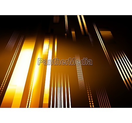 abstract tech background with glowing stripes