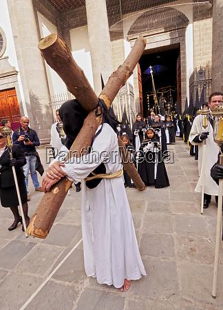 traditionel, påske, helliguge, procession, i, san - 26478846