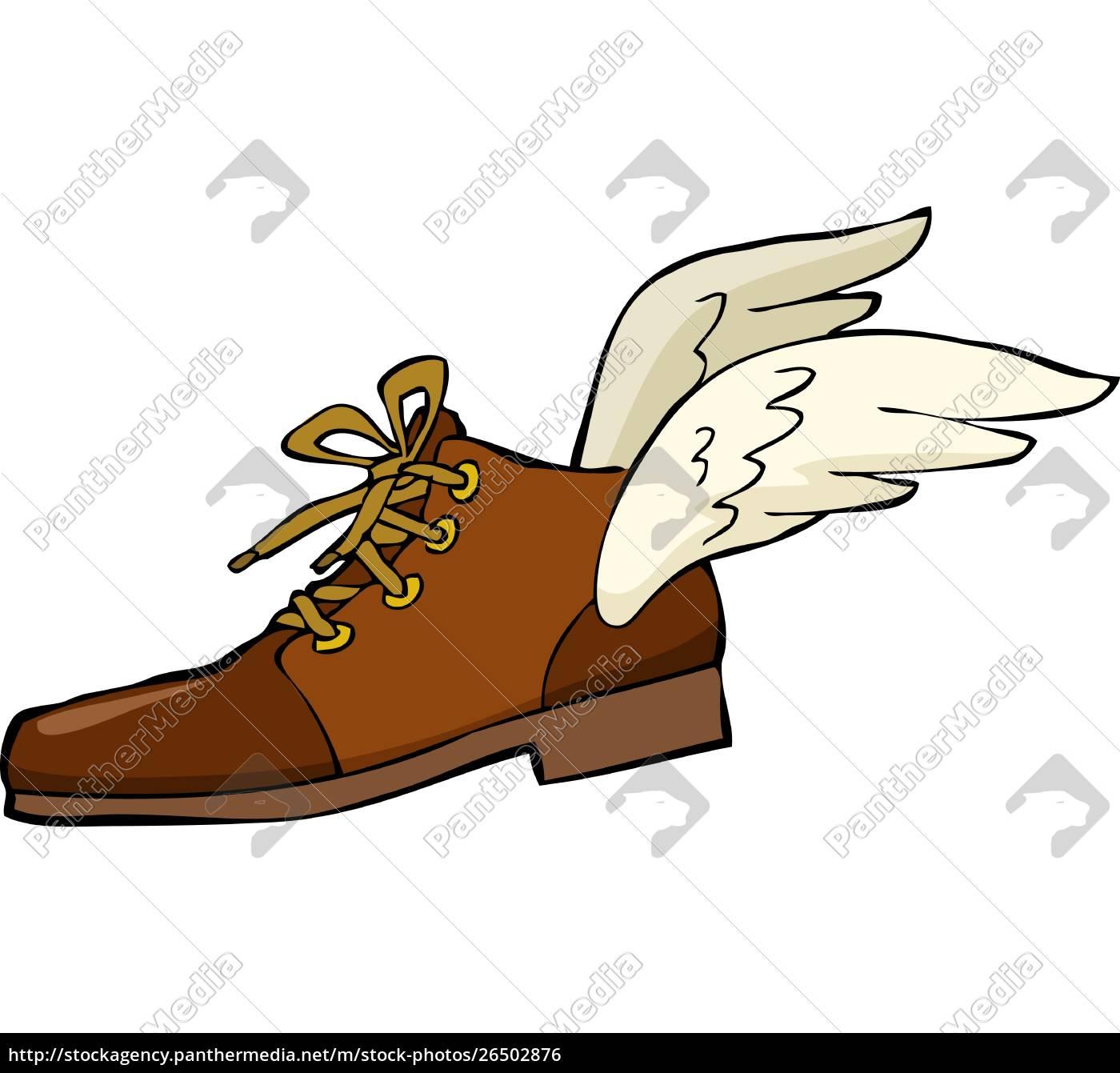 sko, hos, vinger, på, en, hvid, baggrund, vector-illustration - 26502876