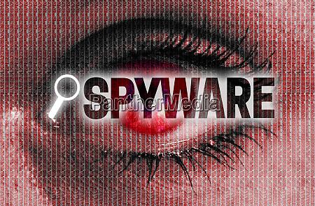 spyware oje ser pa seeren koncept