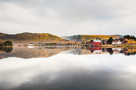 norway lofoten islands bostad