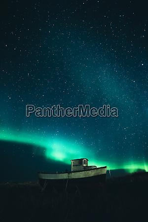 norway lofoten islands eggum fishing boat