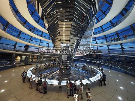 bundestag parlament kuppel berlin tyskland 2019