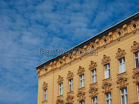 traditional historical facade in berlin