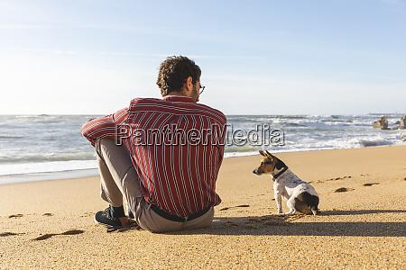 portugal porto baggrund af ung mand