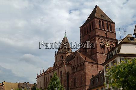 lutherske thomaskirche Eglise saint thomas st