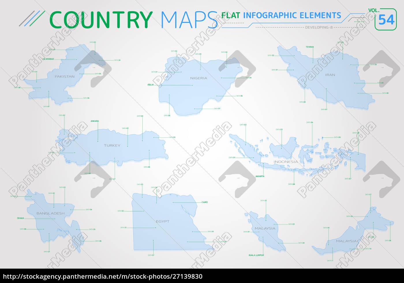 Udvikling 8 Indonesien Iran Bangladesh Egypten Nigeria