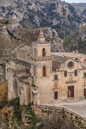 italien basilicata provinsen matera matera san