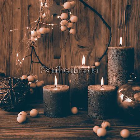 juledekoration i retro stil