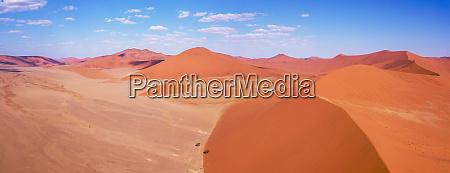 luftlandskab skjult vlei i namibia afrika