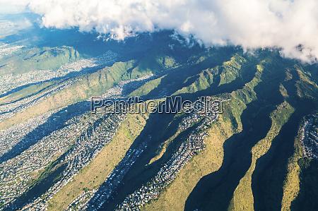luftfoto af honolulu oahu hawaii