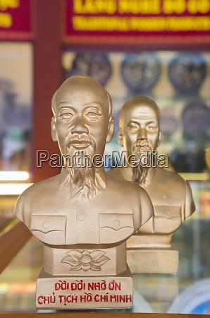 vietnam, hanoi., souvenir, ho, chi, minh, bust - 27682166