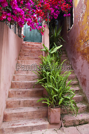 greece, , crete, , chania., stairs, decorated, with - 27921837