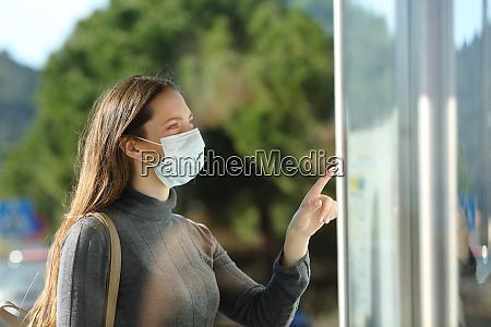 kvinde ifort en maske kontrol tidsplan