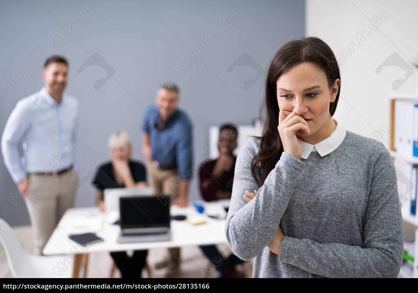 portræt, af, en, ulykkelig, forretningskvinde - 28135166