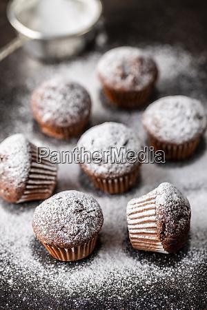 velsmagende, chokolade, muffins., søde, cupcakes. - 28135259