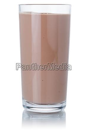 frisk chokolade maelk ryste milkshake glas