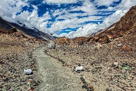 foot path to sacred lake lohat