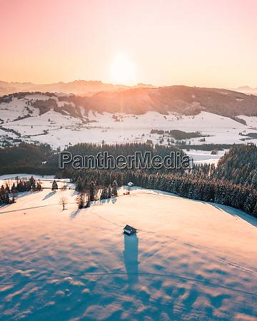 luftfoto af raten schweiz